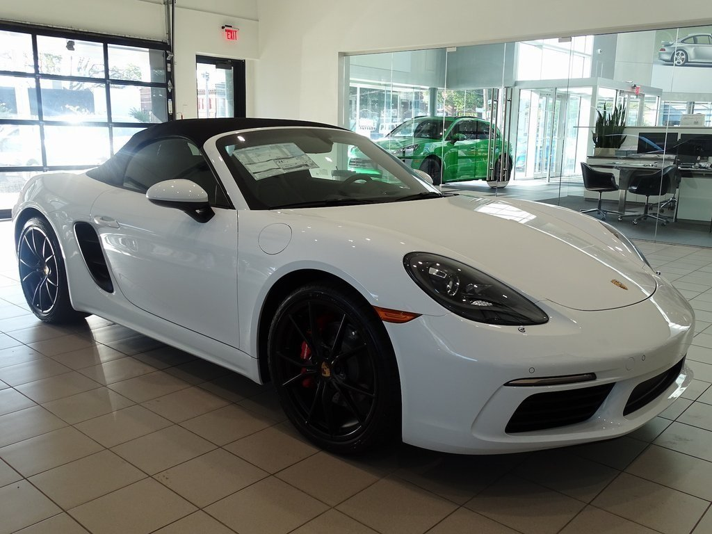 Certified Pre-Owned 2019 Porsche 718 Boxster S